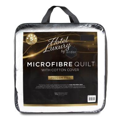 Ardor Hotel Luxury 250gsm Microfibre Quilt, Double