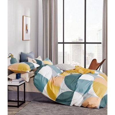 Ardor Phoebe 3 Piece Cotton Quilt Cover Set, Double