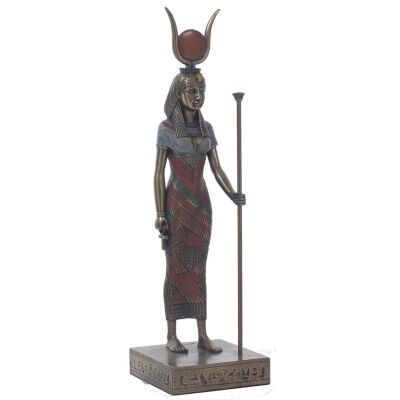 Egyptian Mythology Figurine, Standing Hathor