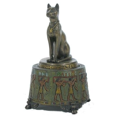 Bastet Figurine Music Box