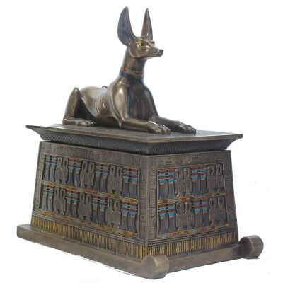 Anubis Trinket Box, Large