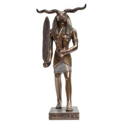 Egyptian Mythology Figurine, Standing Khnum
