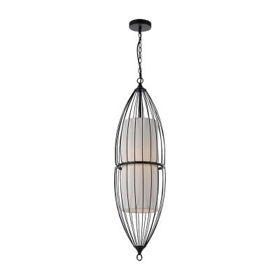 Rashid Metal Wire Pendant Light, Large