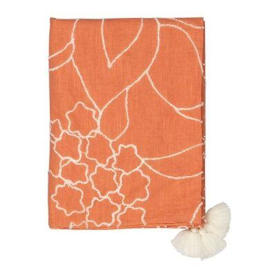 Olia Cotton Throw, 170x130cm