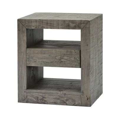 Rustic Bayview Reclaimed Timber Bedside Table