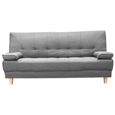 Robyn Fabric Clic Clac Sofa Bed, Grey