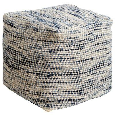 Juno Handcrafted Wool Ottoman