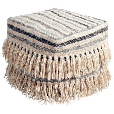 Vadoma Handcrafted Wool Ottoman