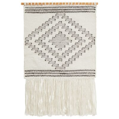 Lakely Handcrafted Textured Macrame Wall Hanging