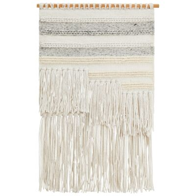 Mabel Handcrafted Textured Macrame Wall Hanging