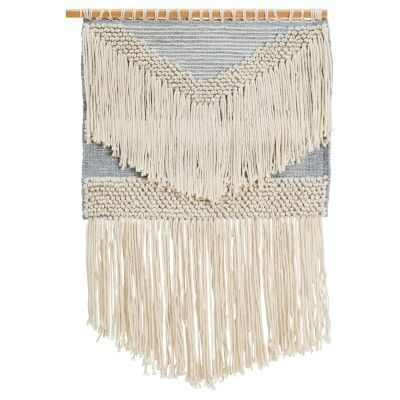 Waverly Handcrafted Textured Macrame Wall Hanging