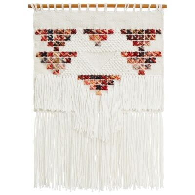 Willow Handcrafted Textured Macrame  Wall Hanging