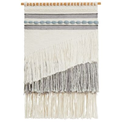 Echo Handcrafted Textured Macrame Wall Hanging