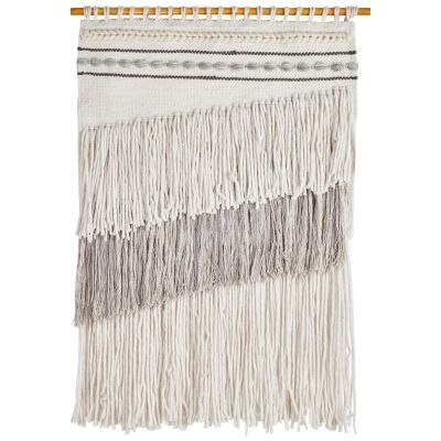 Cadence Handcrafted Textured Macrame Wall Hanging
