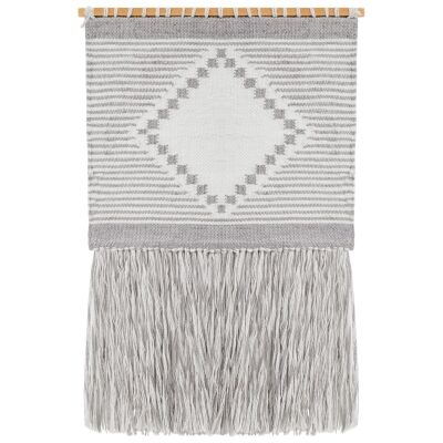 Catrine Handcrafted Textured Macrame Wall Hanging
