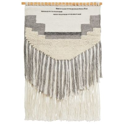 Chiara Handcrafted Textured Macrame Wall Hanging