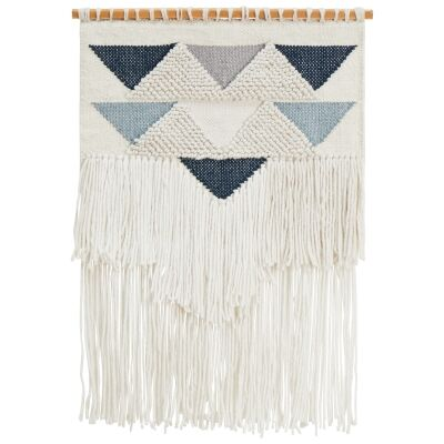 Deja Handcrafted Textured Macrame Wall Hanging