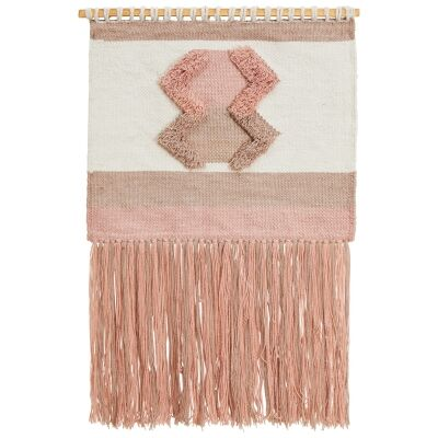 Twyla Handcrafted Textured Macrame Wall Hanging