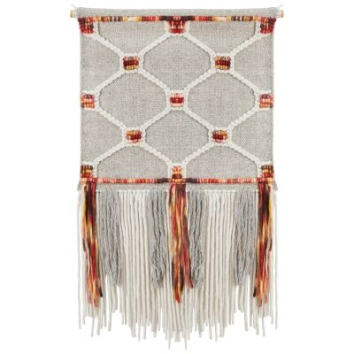 Vellum Handcrafted Textured Macrame Wall Hanging
