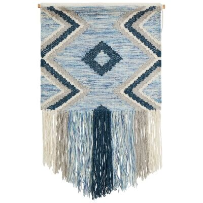 Ophelia Handcrafted Textured Macrame Wall Hanging