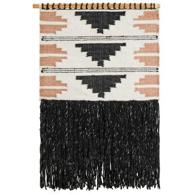 Mae Handcrafted Textured Macrame Wall Hanging