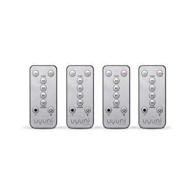 Uyuni Flameless Candel Remote, Set of 4