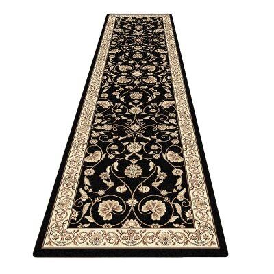 Cyropolis Jaslyn Oriental Runner Rug, 80x300cm, Black