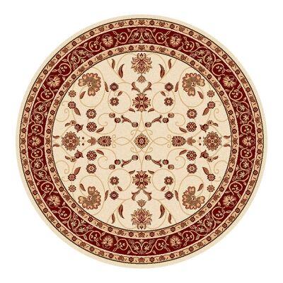 Cyropolis Jaslyn Oriental Round Rug, 160cm, Cream