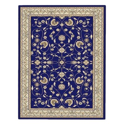 Cyropolis Jaslyn Oriental Rug, 120x170cm, Dark Blue