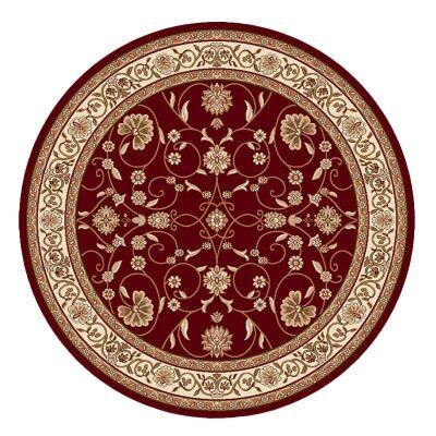 Cyropolis Jaslyn Oriental Round Rug, 200cm, Red
