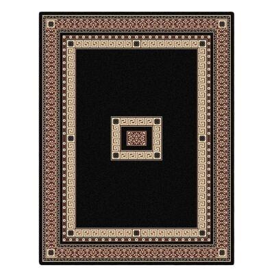 Cyropolis Darius Oriental Rug, 160x230cm, Black