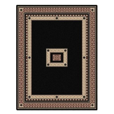 Cyropolis Darius Oriental Rug, 80x150cm, Black