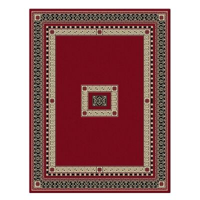 Cyropolis Darius Oriental Rug, 80x150cm, Red