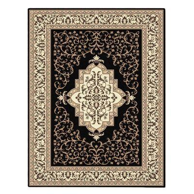 Cyropolis Omar Oriental Rug, 160x230cm, Black