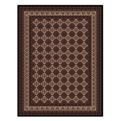 Cyropolis Roshan Oriental Rug, 160x230cm, Black