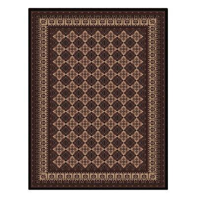 Cyropolis Roshan Oriental Rug, 240x330cm, Black
