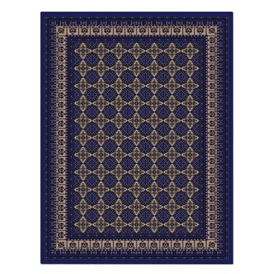 Cyropolis Roshan Oriental Rug, 160x230cm, Dark Blue