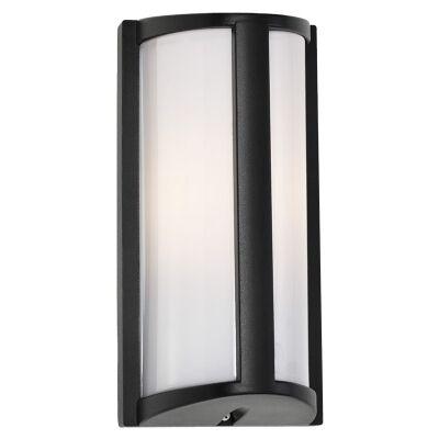 Regina IP44 Outdoor Wall Light, Black