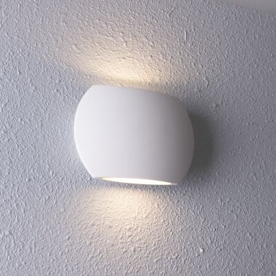 Remo IP54 Exterior Up/Down LED Wall Light, White