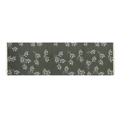 Olive Grove & Cotswold Fabric Table Runner, 150cm, Olive