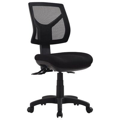 Rio Fabric Task Office Chair, Low Back