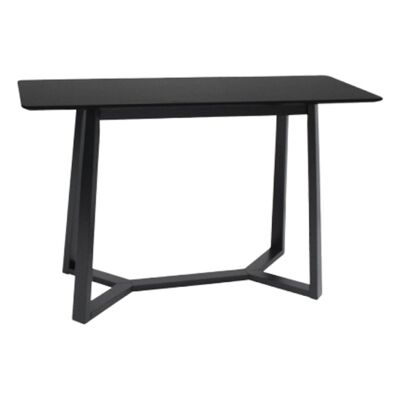 Waco Wooden Console Table, 120cm, Black