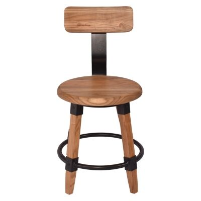 Gordon Elm Timber Dining Chair, Natural