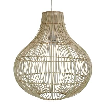 Bergamo Bamboo Rattan Pendant Light