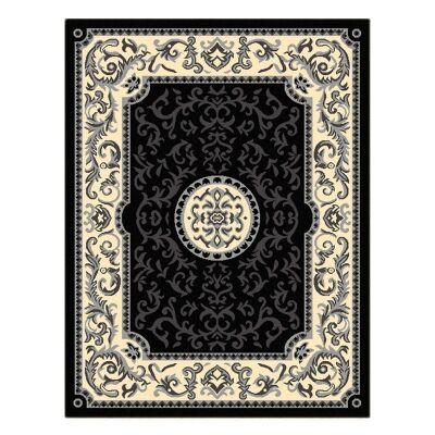 Legacy Emori Oriental Rug, 200x290cm, Black