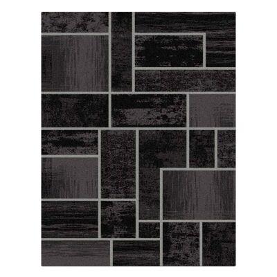 Legacy Clifford Modern Rug, 80x150cm, Black