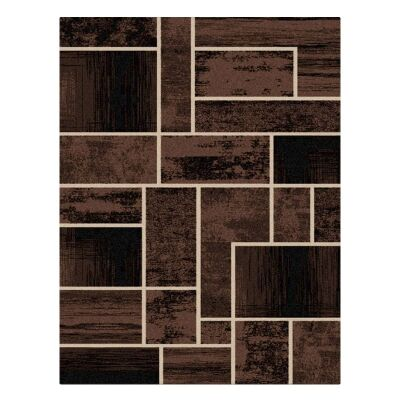 Legacy Clifford Modern Rug, 160x230cm, Brown
