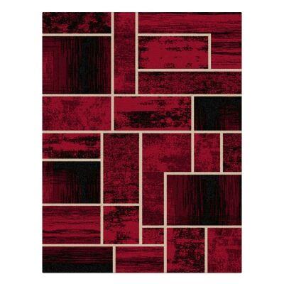 Legacy Clifford Modern Rug, 240x330cm, Red