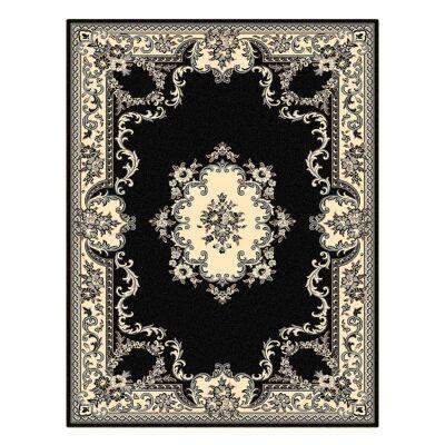 Legacy Azar Oriental Rug, 80x150cm, Black