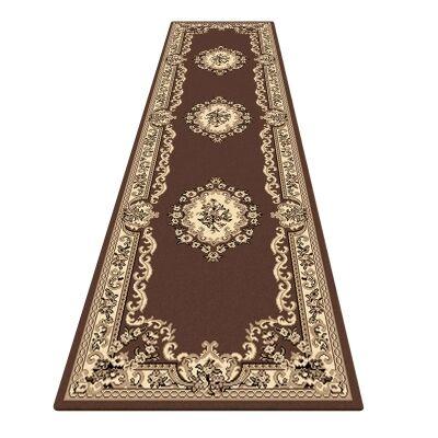 Legacy Azar Oriental Runner Rug, 80x300cm, Brown